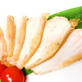 黒さつま鶏黒王 ムネ肉のコンフィ